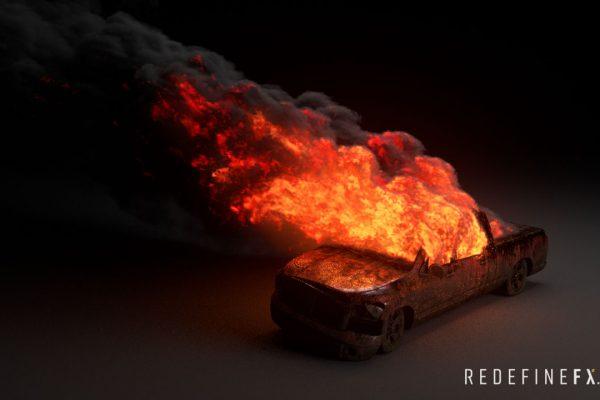#2 Car Burning