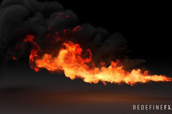 #4 Gasoline Flamethrower