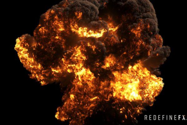 #6 Fuel-Based Explosion + Wavelet Turbulence