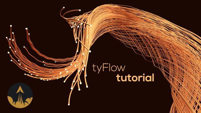 tyflow spline tutorial