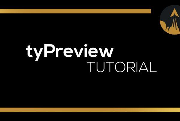 tyflow typreview tutorial