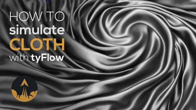 tyflow cloth tutorial
