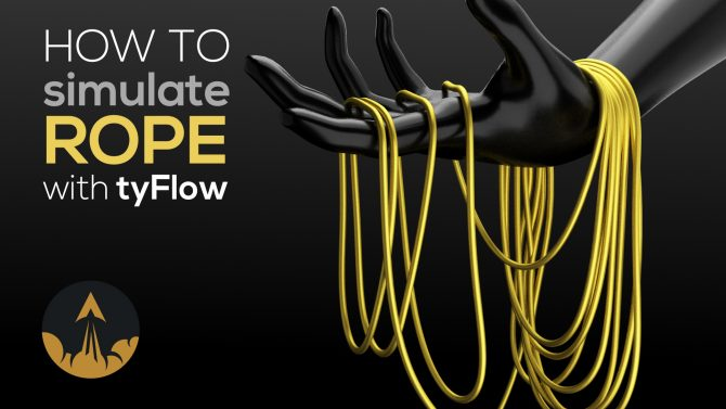 tyflow rope