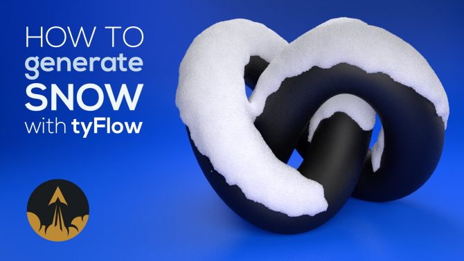 tyflow snow tutorial