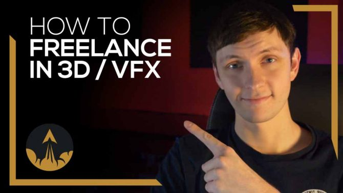 how to become a freelance 3D artist