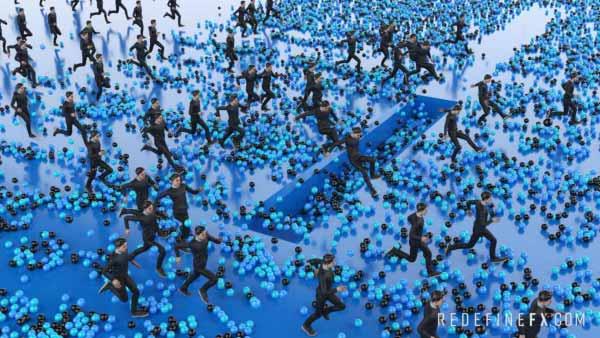 tyflow tyactors crowd simulation